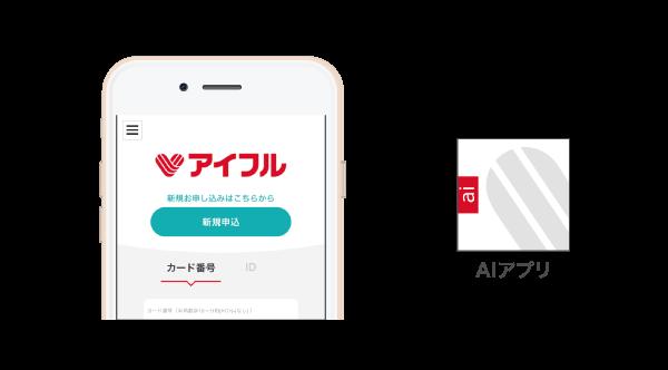 アイフルのAIアプリ