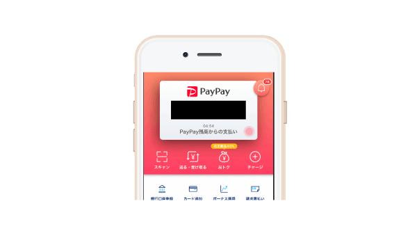 PayPayのミニアプリ